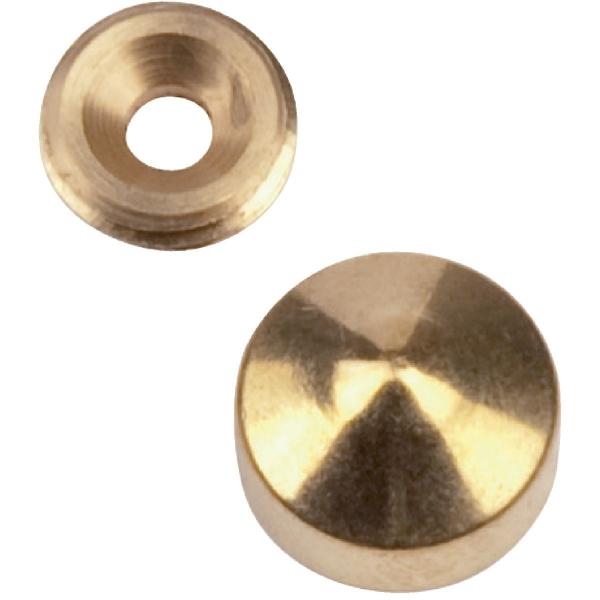 Cache vis marbier poli - Ø 18 mm - Métaux Ouvres et Décorés