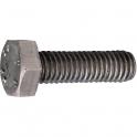 Vis métaux tête hexagonal - Ø 6 mm - 10 mm - Inox - Boîte de 200 pièces - Acton