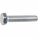 Vis métaux tête hexagonal - Ø 12 mm - 30 mm - Zingué blanc - Boîte de 100 pièces - Vissal