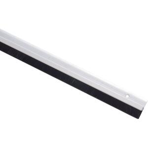 Plinthe avec brosse - Hauteur 40 mm - Bas de porte - Profil PBH - Bilcocq