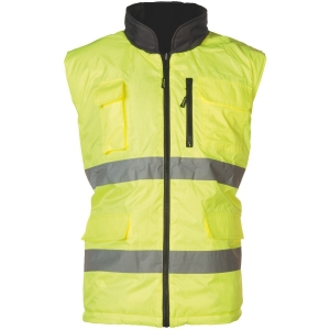 Gilet jaune / gris réversible - HI-Way - Taille M - Coverguard