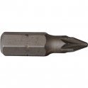 Embout Trempe dure Pozidriv PZ2 - 25 mm - Riss