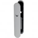 Plaque gris manhattan - Bec de cane - 255 mm - NY92F et NY94F - La paire - Normbau