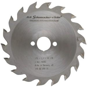 Lame de scie à denture alternée - Ø 250 mm - 60 dents - Kwo