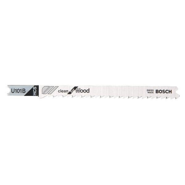 Lames de débit avoyée rectifiée - 100 mm - U101D - Vendu par 3 - Bosch