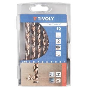 Foret à métaux gradués - Technic SLR - Boîte de 10 pièces - Tivoly