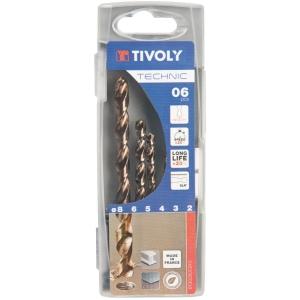 Foret à métaux gradués - Technic SLR - Boîte de 6 pièces - Tivoly