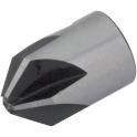 Fraisoir amovible - Acier HSS - Ø 5 à 16 mm - Kwo