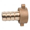 Demi-raccord laiton - Tuyau Ø 35 mm - F 1'1/2 - Sobime