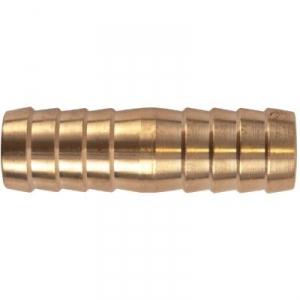 Racord laiton cannelé droit - Tuyau Ø 15 mm - Puteus