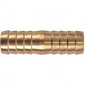 Racord laiton cannelé droit - Tuyau Ø 19 mm - Puteus