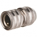 Raccord rapide laiton standard - Tuyau Ø 19 mm - Cap Vert