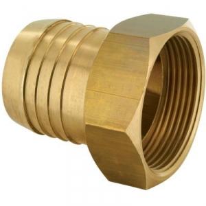 """Racord laiton cannelé droit - F 1""""1/4 - Tuyau 30 mm - Codital"""
