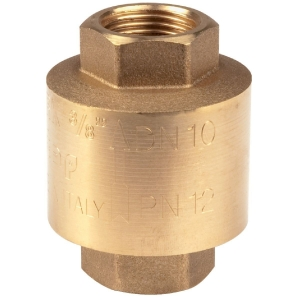 """Clapet anti-retour laiton - F 3/4"""" - York - Itap"""