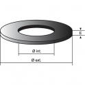 Joint de soupape - 70 x 9 x 4 mm - Mécanisme Cloc-toc - Nord picardie joints