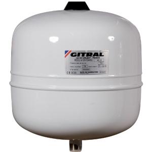 Vase d'expansion eau sanitaire - 8 L - Gitral