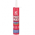 Mastic colle - Polymax high tack express - blanc - Griffon