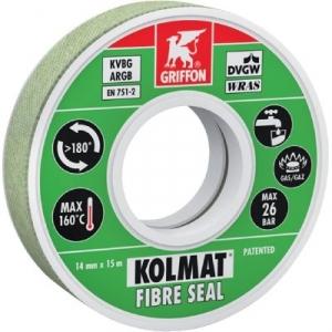 Bande d'étanchéité - 15 m - Kolmat fibre seal - Griffon
