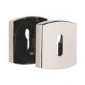Rosace carrée diamant noir - Clé L - Muze et Artis - Vendu par 2 - Vachette