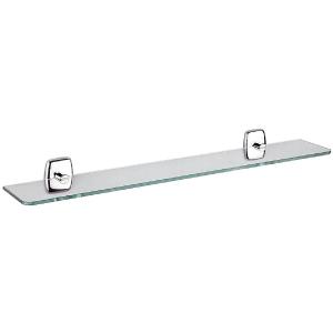 Tablette de lavabo rectangulaire translucide - Export 2200 - Inda