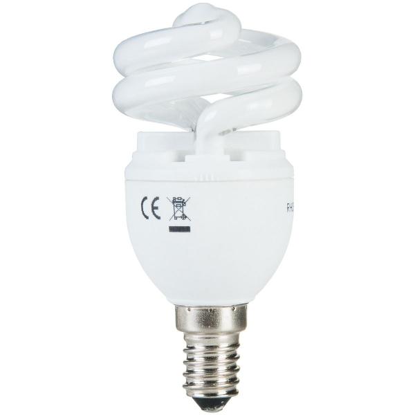 Ampoule fluocompact Spirale T2 E14 - 12 W - General electric