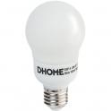 Ampoule Standard - E27 - 18 W - 2800 K - Dhome