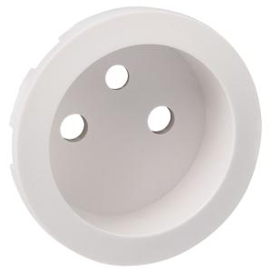 Enjoliveur blanc - prise 2P+T standard - Céliane - Legrand