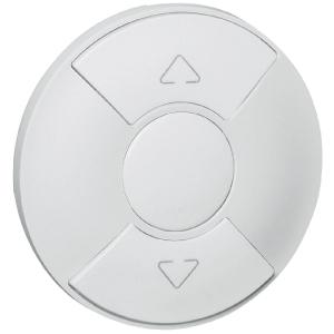 Enjoliveur blanc - interrupteur volets roulatns - Céliane - Legrand