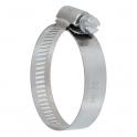 Collier bande perforée W4 inox - 13 mm - Serrage 18 - 28 mm - Boîte de 25 pièces - Ace