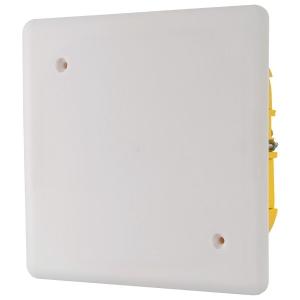 Boîte blanche carrée - 170 mm - Couvercle à vis - Batibox - Legrand