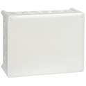 Boîte grise rectangulaire - 310 x 240 mm - 36 embouts - Presse étoupe - Plexo - Legrand