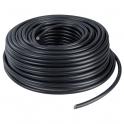 Câble rigide industriel U1000 R2V noir - 4G1,5 mm² - Couronne de 50 m - Sermes