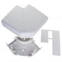 Angle plat 90° - Pour goulotte 50 x 150 mm - Couvercle 65 et 85 mm - DLP monobloc - Legrand