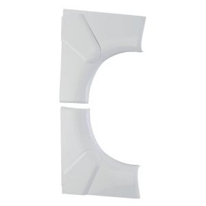 Angle intérieur variable - Pour goulotte 35 x 80 / 105 mm - Couvercle 65 et 85 mm - DLP monobloc - Legrand