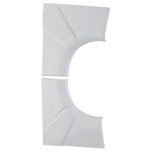 Angle intérieur variable - Pour goulotte 50 x 80 / 105 / 195 mm - Tous couvercles - DLP monobloc - Legrand
