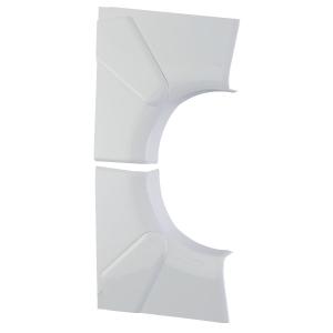 Angle intérieur variable - Pour goulotte 50 x 105 mm - Couvercle 65 mm - DLP monobloc - Legrand