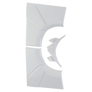 Angle intérieur variable - Pour goulotte 50 x 150 / 195 mm - Couvercle 65 et 85 mm - DLP monobloc - Legrand