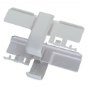 Éclisse de jonction - Pour goulotte 50 x 145 mm - Mosaic - Vendu par 2 - Legrand