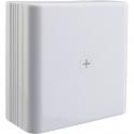 Boîte blanche carrée - 110 x 110 mm - Pour moulure - DLPlus - Legrand