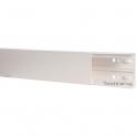 Goulotte auto-adhésive 1 compartiment - 90 x 40 mm - Viadis - Planet wattohm