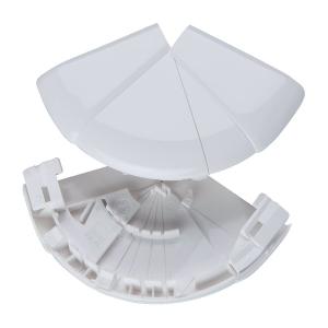 Angle extérieur variable - Pour goulottes 65 x 150 / 195 mm - Couvercle 130 et 180 mm - DLP monobloc - Legrand