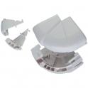 Angle extérieur variable - Pour goulottes 50 x 105 mm - Couvercle 65 mmm - DLP monobloc - Legrand