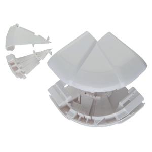 Angle extérieur variable - Pour goulottes 50 x 80 / 105 / 150 / 195 mm - Tous couvercles - DLP monobloc - Legrand