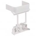 Dérivation plane vers largeur 80 mm - Pour goulottes 35 / 50 x 80 / 105 / 150 / 220 / 195 mm - Tous couvercles - DLP monobloc -