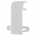 Joint de corps à éclisse - Pour goulottes 50 x 105 mm - Couvercles 65 mm - DLP monobloc - Legrand