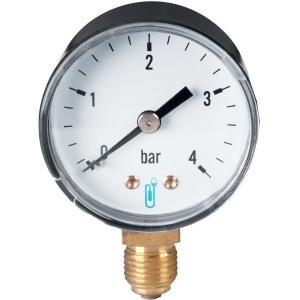 Manomètre radial - 4 bars - Distrilabo