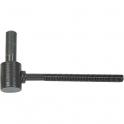 Gond à sceller époxy noir - 130 mm - Axe Ø 16 mm - Vendu par 30 - Torbel industrie