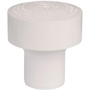 Clapet équilibreur de pression PVC blanc - Ø 110 mm - Durgo - Sélection Cazabox
