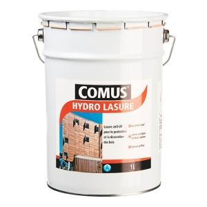Lasure anti-UV teinte chêne claire - 1 L - Hydro lasure - Comus