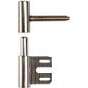 Fiche mixte - Ø 15 mm - 48,5 mm - Pour bois / métal - Sélection Cazabox